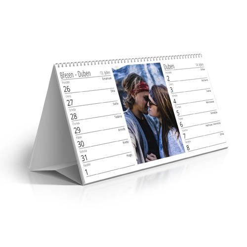 Kalendář stolní - 2021 - Čtrnáctidenní kalendář