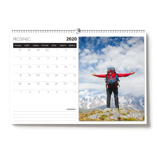 Kalendář nástěnný - 2020 - A3 na šířku