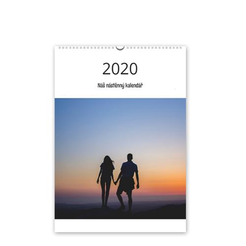 Kalendář nástěnný - 2020 - A4 na výšku