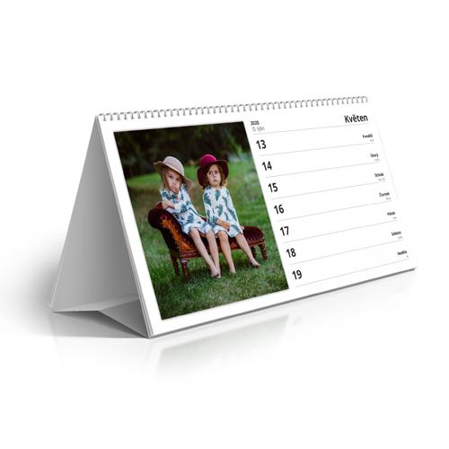 Kalendář stolní - 2021 - Týdenní kalendář