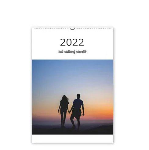 Kalendář nástěnný - 2022 - A4 na výšku